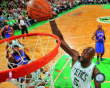 Kevin Garnett 2010-11 Playoff Action Photo