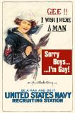 Sorry Boys I'm Gay Masterprint