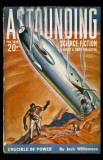 February 1939 -Astounding -Crucible of Power Masterprint