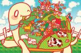 Minoji Turtle Farm Masterprint
