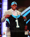 Cam Newton 2011 NFL Draft 1 Pick Photo