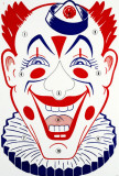 Clown Face Masterprint