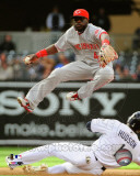 Brandon Phillips 2011 Action Photo