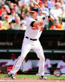 Matt Wieters 2011 Action Photo