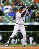 Carlos Gonzalez 2011 Action Photo