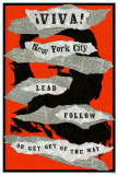 Viva! New York City Che Masterprint