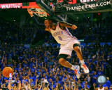 Russell Westbrook 2010-11 Playoff Action Photo