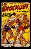April/May 1938 - Knockout- Joe Louis Masterprint