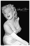 Marilyn Monroe Black and White Masterprint