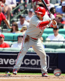 Shane Victorino 2011 Action Photo