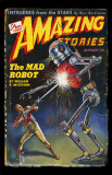 January 1944 -Amazing Stories -Mad Robot Masterprint