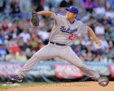 Clayton Kershaw 2011 Action Photo