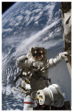 Space Walk Close-Up Masterprint
