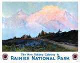 Rainier National Park Masterprint