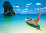 Boat in the Tropics Masterprint