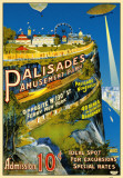 Palisades Amusement Park Masterprint