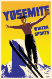 Yosemite Winter Sports Masterprint