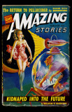 February 1942 -Amazing Stories -Kidnapped into the Future Photo