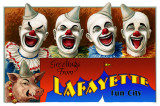Lafayette Clown Name Drop Masterprint