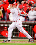 Jay Bruce 2011 Action Photo