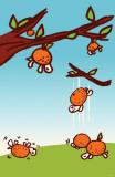 Minoji Orange Tree Masterprint