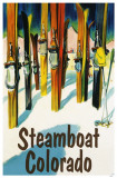Steamboat Colorado Masterprint