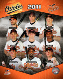 2011 Baltimore Orioles Team Composite Fotografía