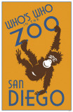Whos Who in the Zoo San Diego Masterprint
