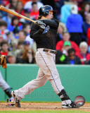 Travis Snider 2011 Action Photo