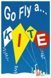 Let's Go Fly A Kite Masterprint