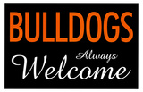Bulldogs Always Welcome Lmina maestra