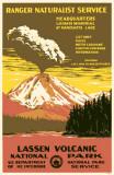Lassen Volcanic National Park Masterprint
