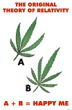 Marijuana Leaves Masterprint