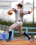 Matt Cain 2011 Action Photo