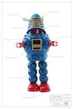 Planet Robot Masterprint