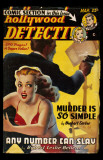 March 1950 -Hollywood Detective -Any Number can Slay Masterprint