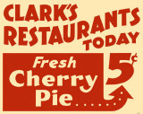 Cherry Pie Sign Masterprint