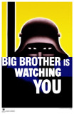 Big Brother is Watching You Masterprint