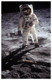 Man on the Moon Masterprint