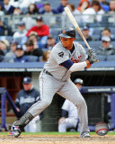 Victor Martinez 2011 Action Photo