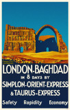 London-Baghdad Masterprint