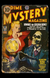 March 1943 - Dime Mystery -Beware the Golden Bowl Masterprint