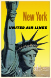 New York United Air Lines Masterprint