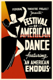 Festival of American Dance Masterprint