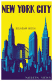 New York City Souvenir Book Brooklyn Bridge Masterprint