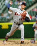 Rick Porcello 2011 Action Photo