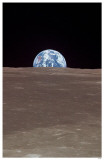 Earth from the Moon Masterprint
