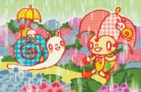 Minoji Snail Rain Masterprint