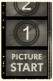 Start Picture Film Strip Masterprint