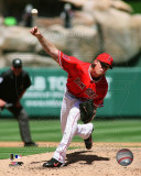 Jered Weaver 2011 Action Photo